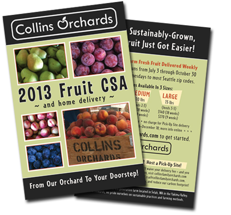 Collins Family Orchards CSA Flyer