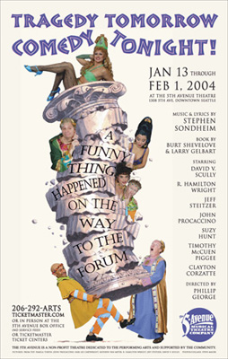 Poster for A Funny Thing Happened on the Way to the Forum