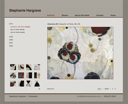 Stephanie Hargrave website